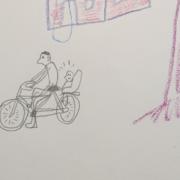 Daddy Yaron Biking